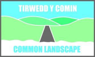 Tirwedd y Comin - Common Landscape Logo